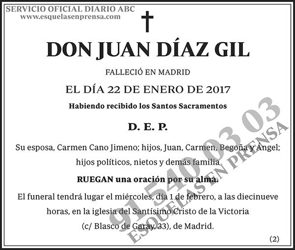 Juan Díaz Gil